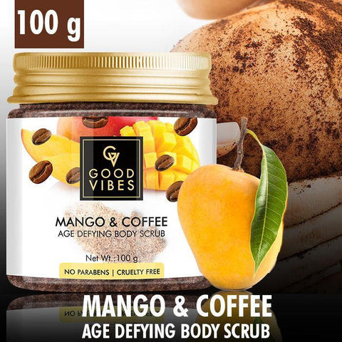 Good Vibes Age Defying Body Scrub - Mango & Coffee (100 g)