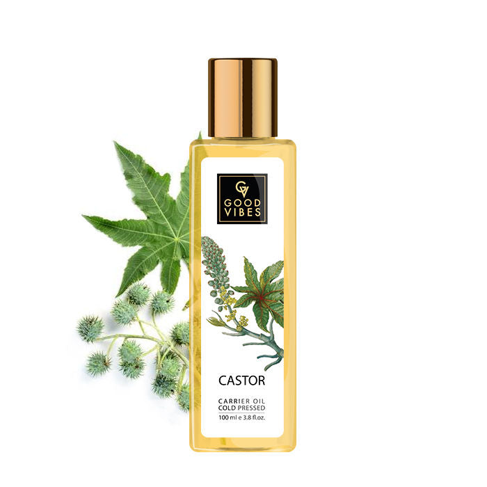 Good Vibes Coldpressed Carrier Oil - Castor (100 ml)