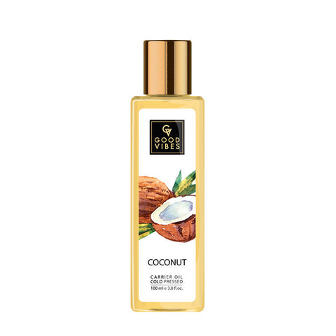 Good Vibes Coldpressed Carrier Oil - Coconut (100 ml)