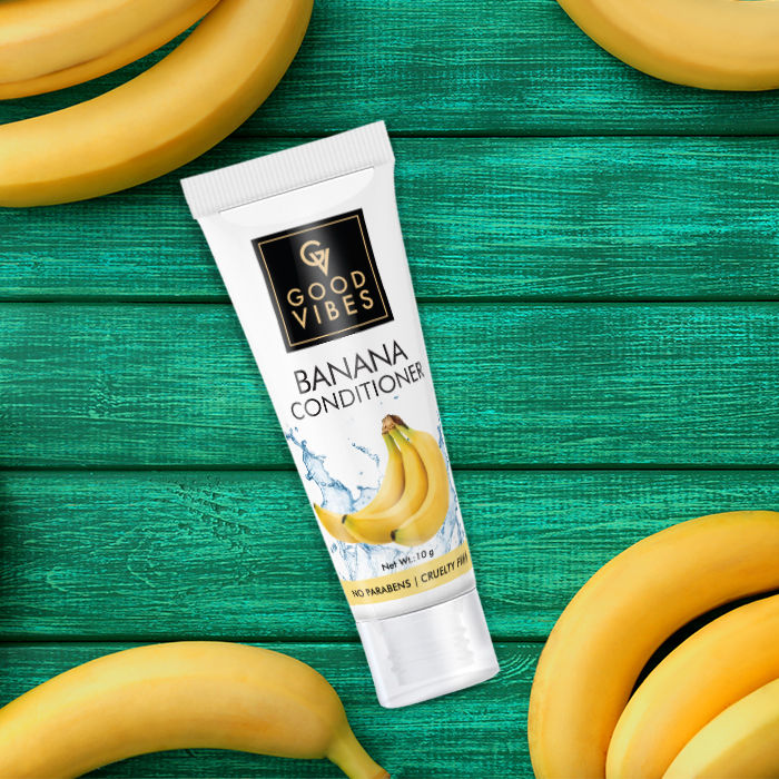 Good Vibes Conditioner - Banana - Travel Size (10 ml)