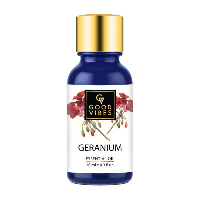 Good Vibes Pure Essential Oil - Geranium (10 ml)
