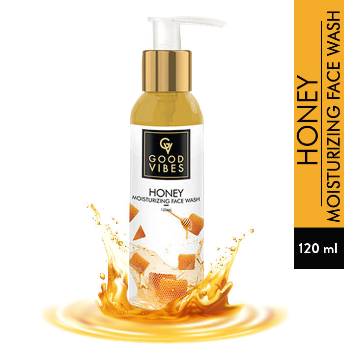 Good Vibes Moisturizing Face Wash - Honey (120 ml)