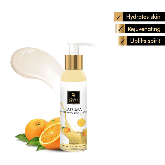 Good Vibes Moisturising Body Lotion - Satsuma (120 ml)