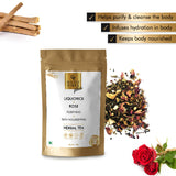 Good Vibes Plus Purifying + Skin Nourishing Herbal Tea - Liquorice + Rose (50 g)
