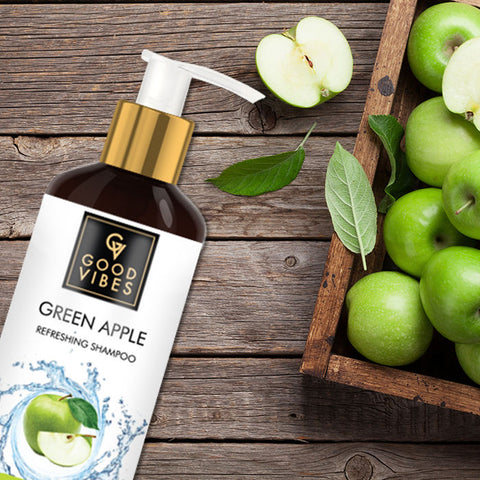 Good Vibes Refreshing Shampoo - Green Apple (300 ml)