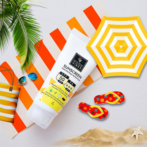 Good Vibes Wide Spectrum Sunscreen with SPF 50 (50 g)