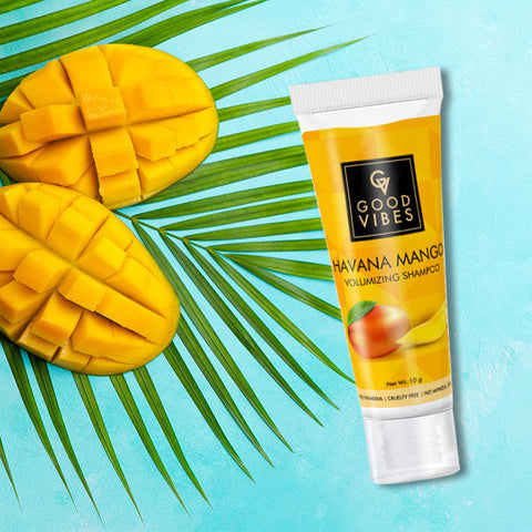 Good Vibes Volumizing Shampoo - Havana Mango - Travel Size (10 ml)