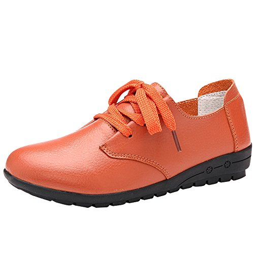 Optimal Women Work Leather Pump Shoes Non Slip