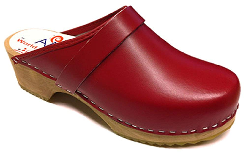 AM-Toffeln 100 Clogs in Red