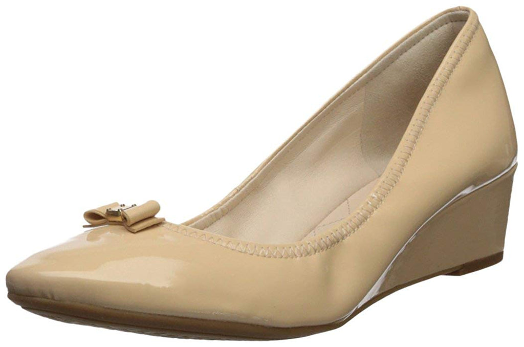 Cole Haan Women's Tali Mini Bow Wedge Pump