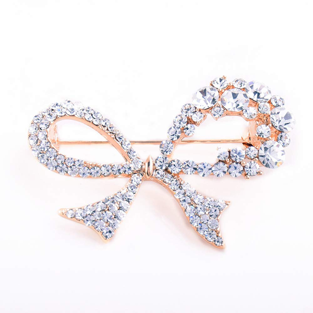 GYAYU Brooch Pins for Women£¬Gold Tone Austria Rhinestone Crystal Brooch Pins Jewelry