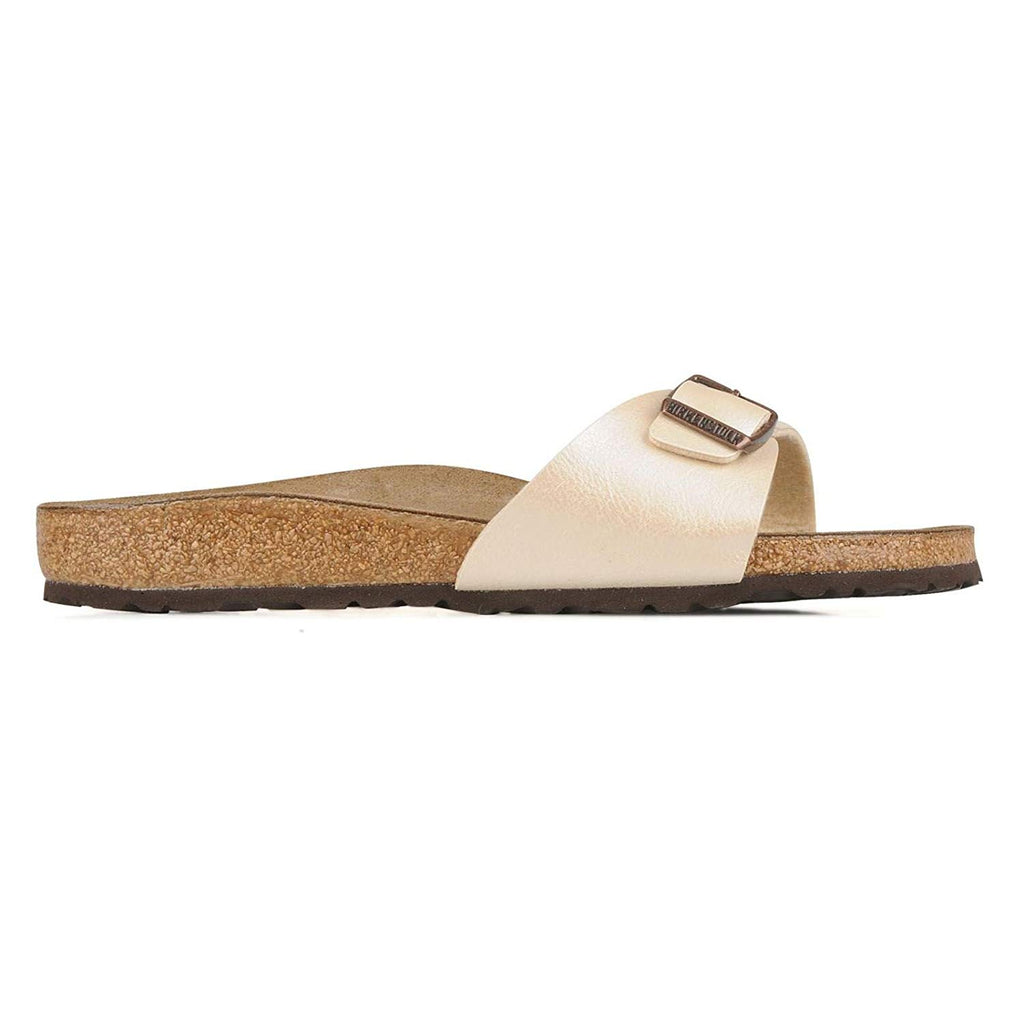 Birkenstock Madird Sandals Birko-Flor - EUR 41 - Regular - Pearl White - Birko-Flor Graceful