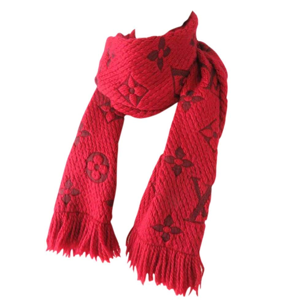 Made in Italy Luxury LVILOG0MANIA iconic monogram Collection UNISEX Scarf wool silk clearance