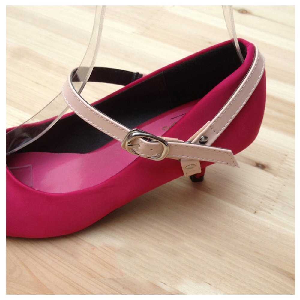 Florawang Detachable Leather Shoe Belt Strap Band for Holding Loose high Heeled Shoe Pumps
