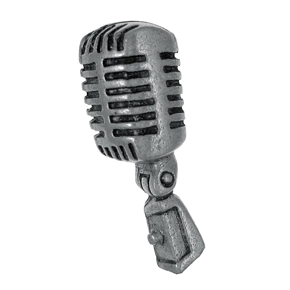 Jim Clift Design Microphone Lapel Pin