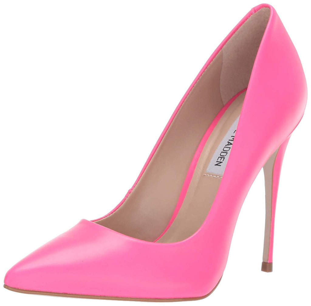Steve Madden Women's Daisie Pink Neon Dress Closed 5.5 US