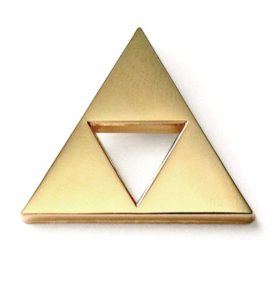 MemePinz Triangle Lapel Pin