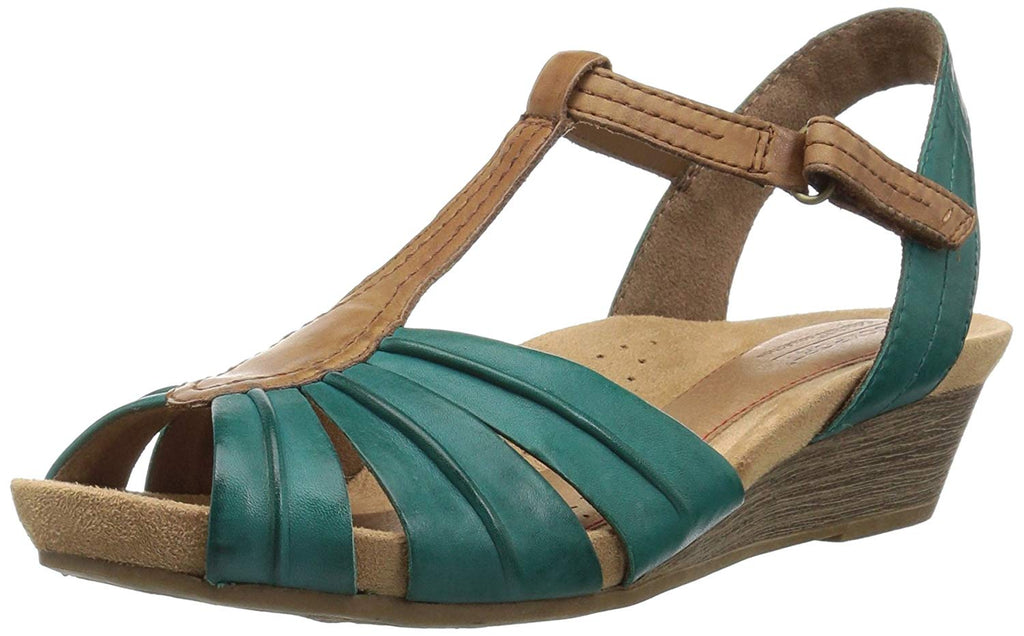 Cobb Hill Women's Hollywood Pleat T Sandal