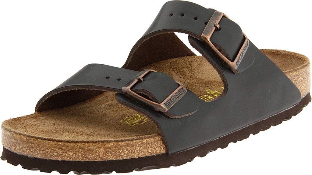 Birkenstock Men's Arizona Slide Sandals,Brown,41 EU (8-8.5 N US Men / 10-10.5 N US Women)