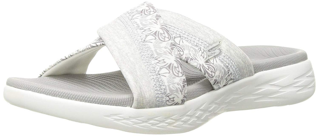 Skechers Women's On-The-Go 600-Monarch Slide Sandal