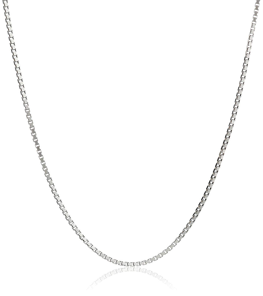 "Honolulu Jewelry Company Sterling Silver 1mm Box Chain Necklace, 14"" - 36"""