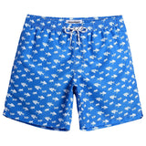 MaaMgic Mens Striped Swim Trunks with Mesh Lining Quick Dry Swim Trunks Bathing Suits 18111858933