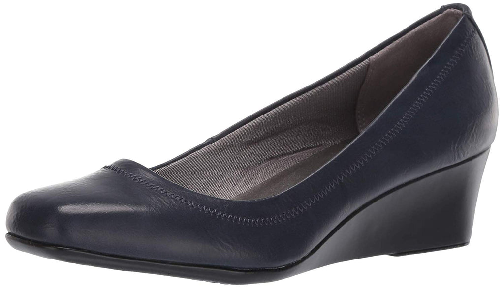 LifeStride Women's Groovy Pump, Navy, 9 M US