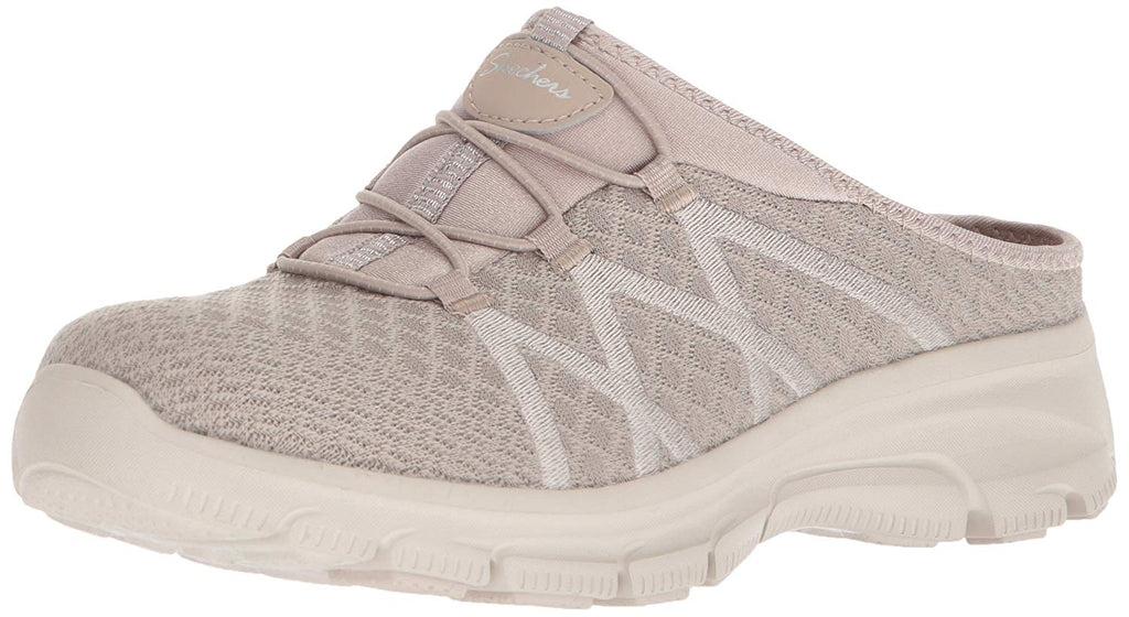 Skechers Women's Knitty Gritty-Knit Bungee Version of The Easy Going-Repute Mule