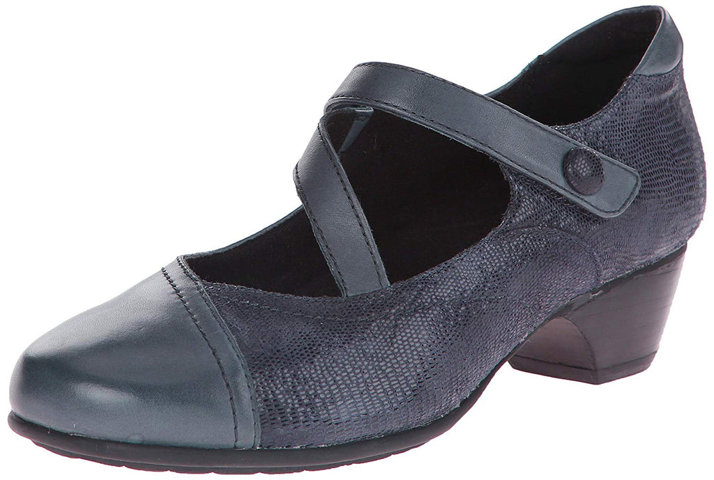 Aravon Women's Portia - AR Dress Pump,Navy Multi,7 B US