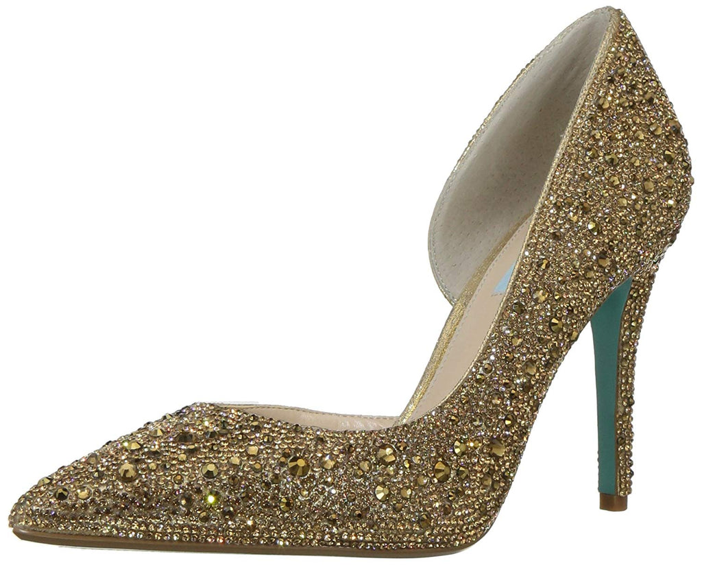 Blue by Betsey Johnson Women's Sb-hazil Pump