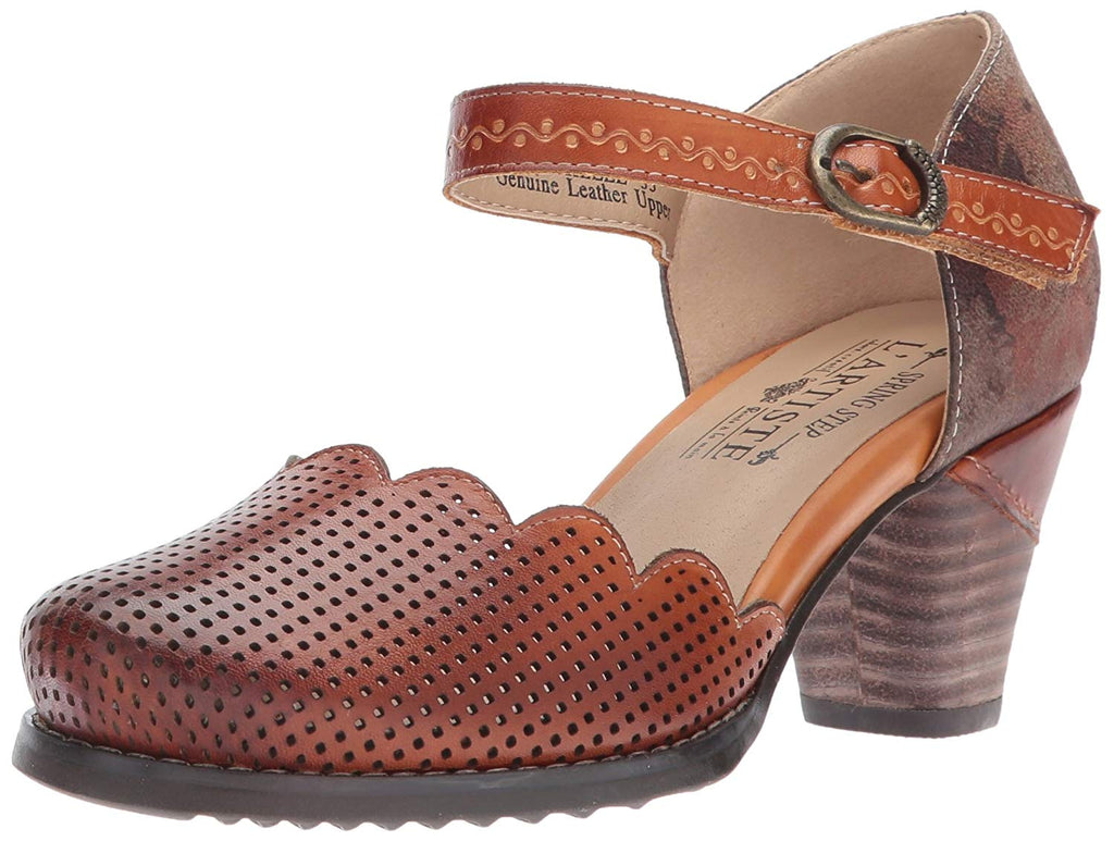 L'Artiste by Spring Step Women's Parchelle Mary Jane Flat