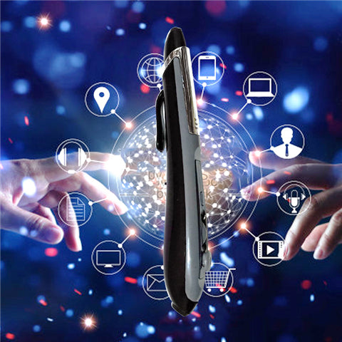 Pocket Mouse 2.4 ghz USB 2.0 Wireless Optical 2 in 1 Digital Pen Mouse & Stylus