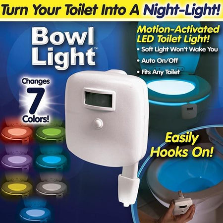 Bowl Light Night Toilet Bowl Light