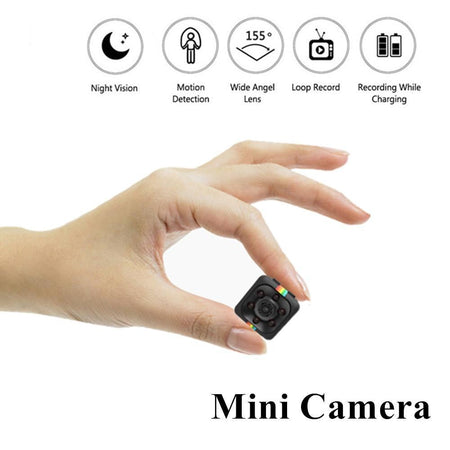 Mini Security Camera System Wireless 1080p HD Spy Camera Hidden Camera