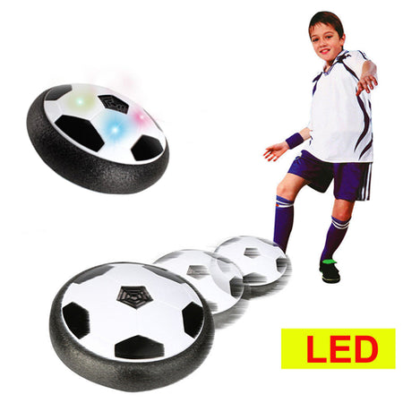 Toyk Kids Toys LED Hover Soccer Ball Air Power Training Ball Playing Football Game Soccer Toys1 2 3 4 5 6 7 8 9 10 11 12Year Old Boys Girls Best Gift