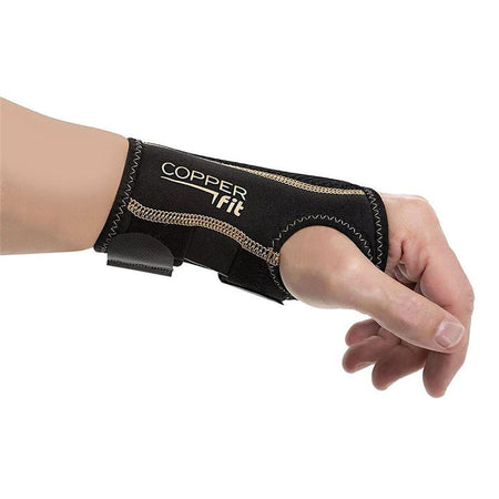 Copper Compression Fit Wrist Sleeve Small Medium SET Left and Right Wrist Glove