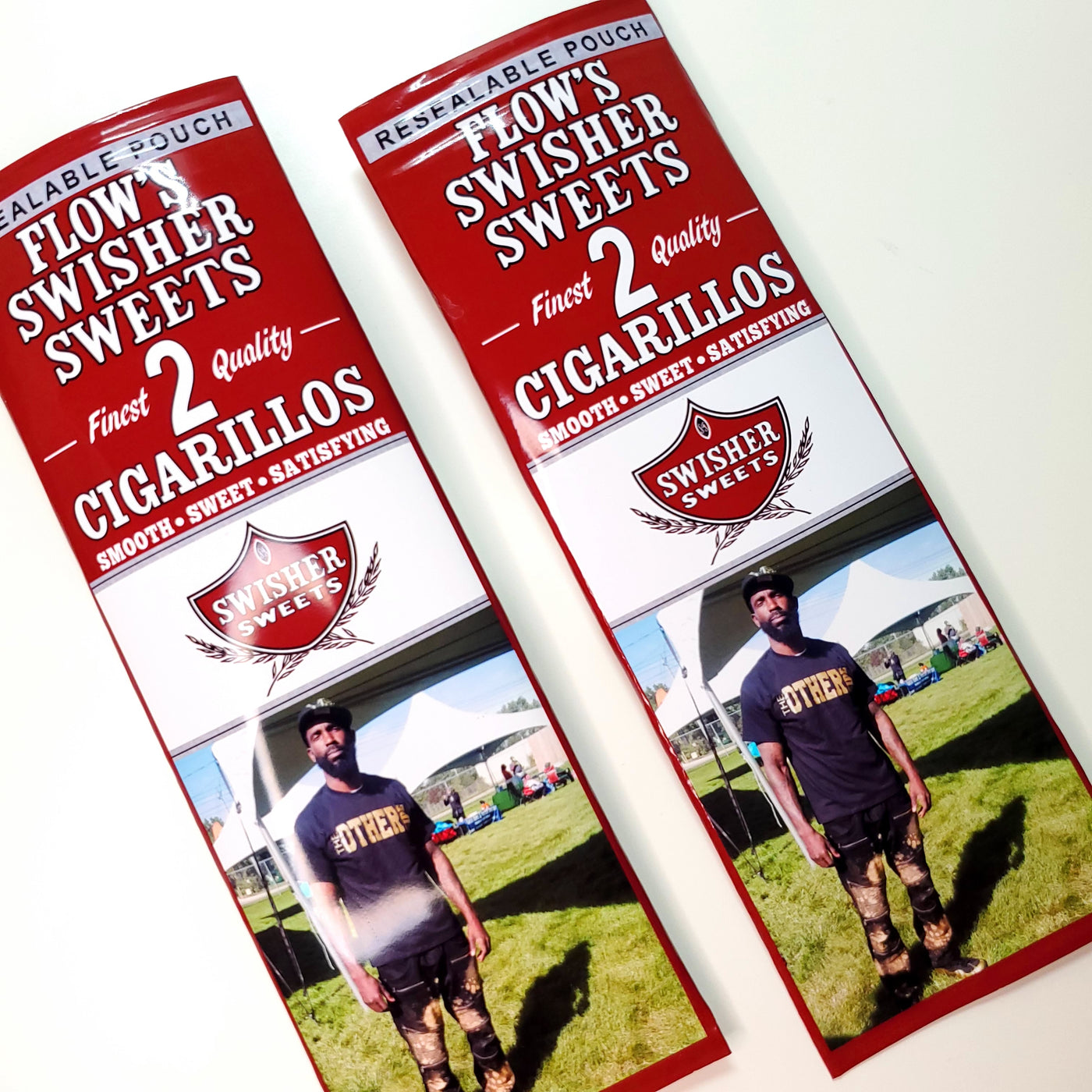 Custom Cigarillo Wrapper