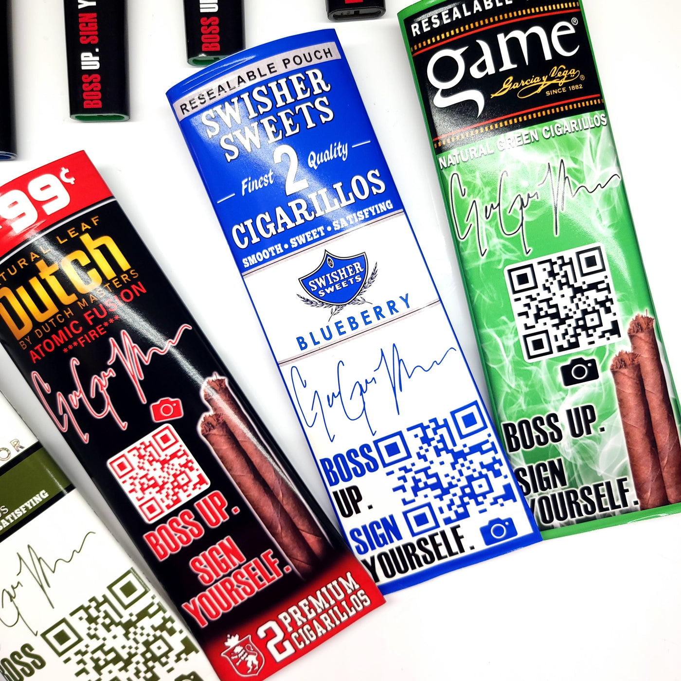 Marketing Favor Cigarillo Wrapper