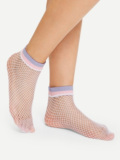 Kawaii Net Socks