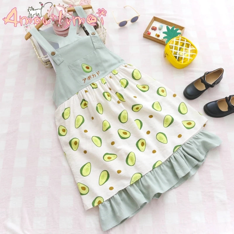 Avocado Season Dress