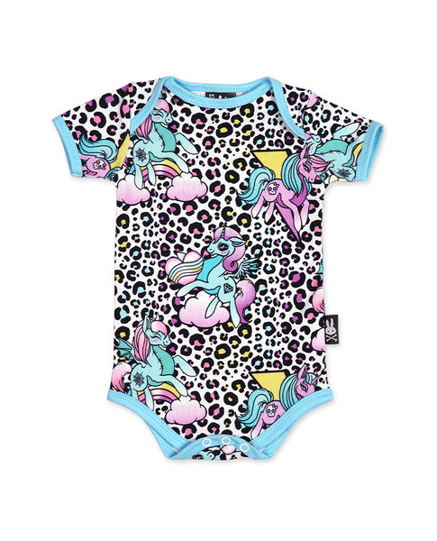 Unicorn Party Baby Romper