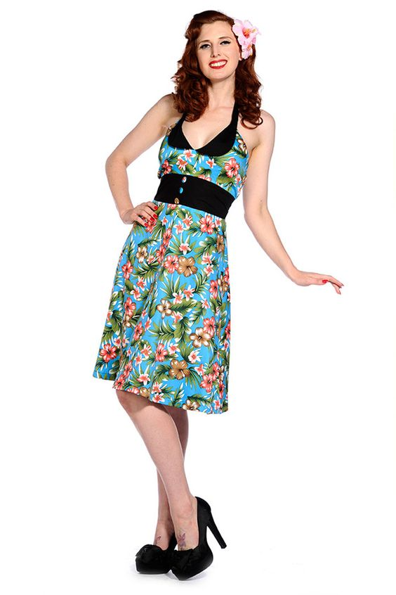50S Rockabilly Dress By Banned Apparel