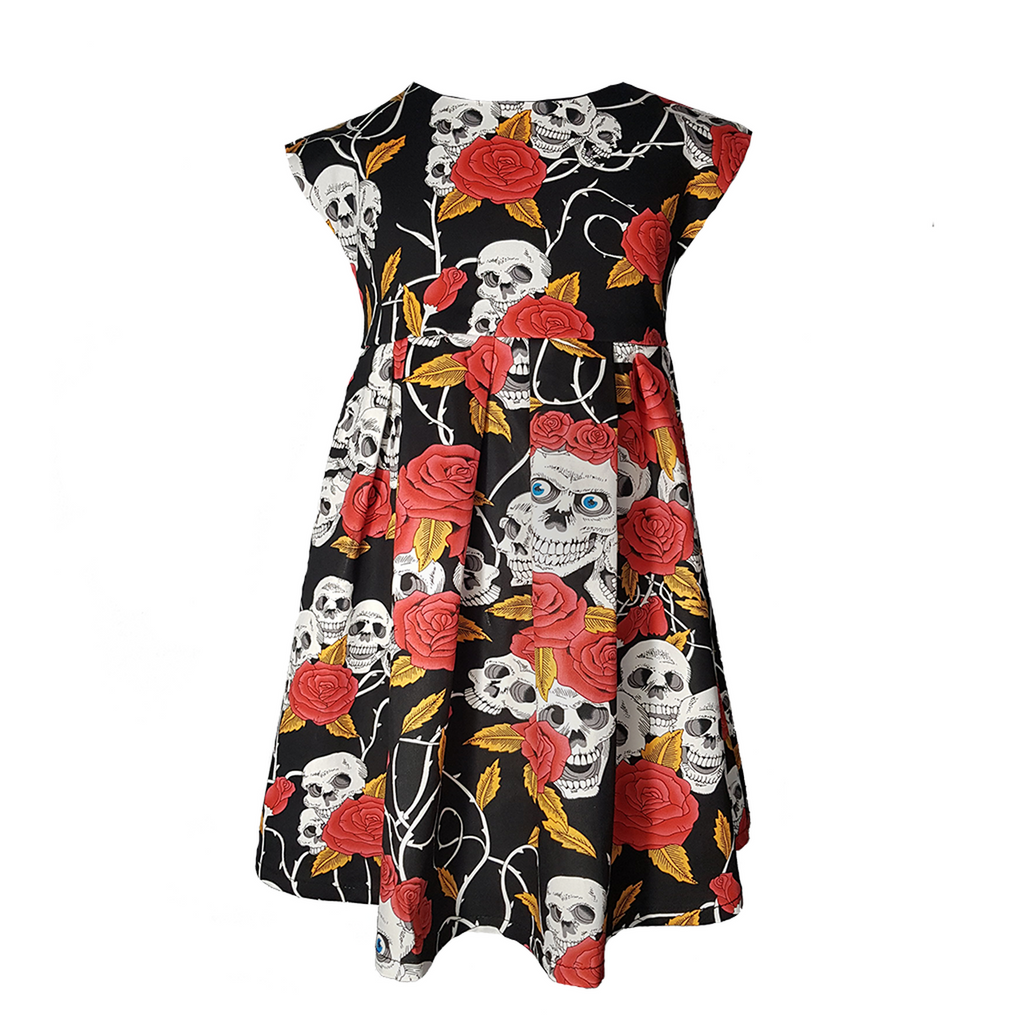 Skull and Roses dress Dress By Metallimonsters