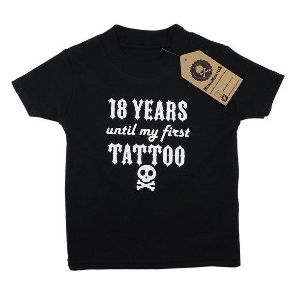First Tattoo T-Shirt By Metallimonsters