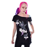 Unicorn Cloud Off Shoulder T By Cupcake Cult