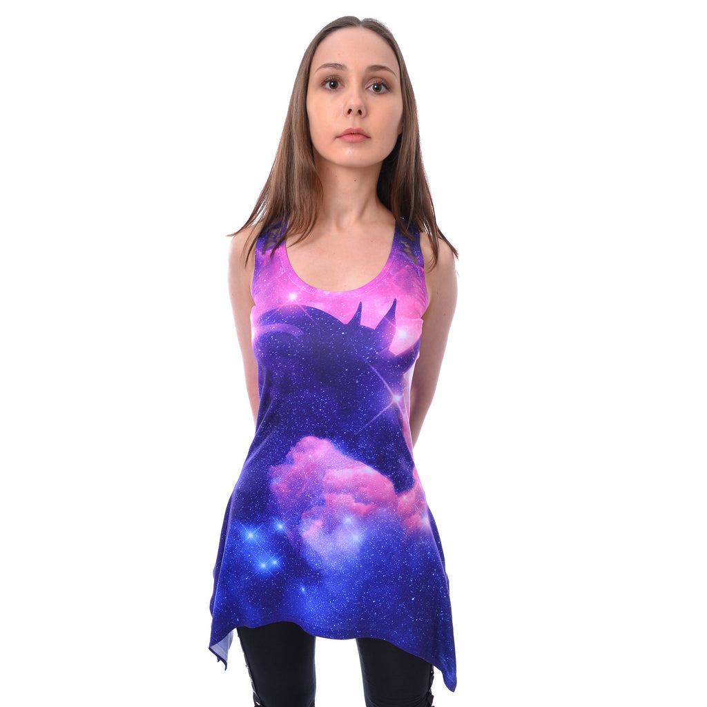 Unicorn Galaxy Lace Top By Innecent Life