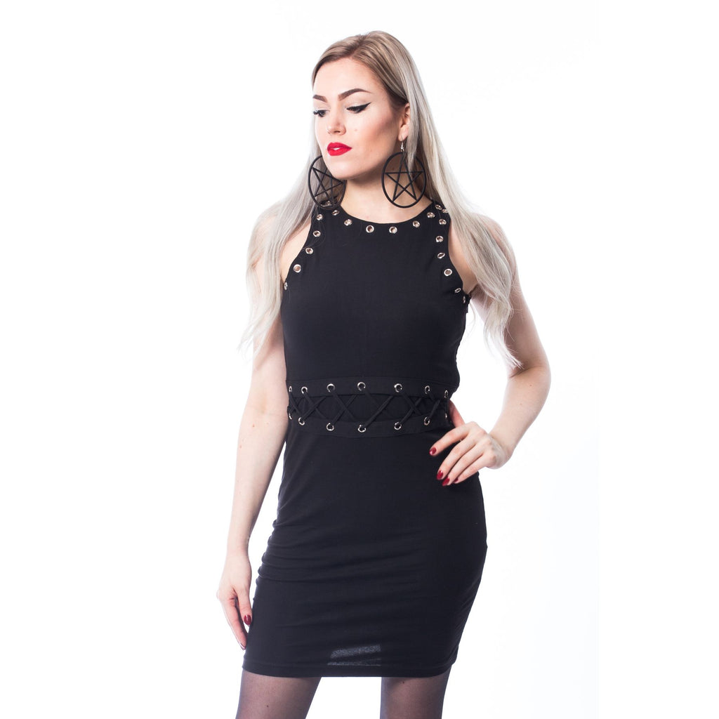Vaisy Dress By Chemical Black