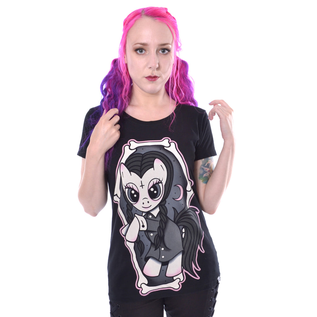 Wednesday Pony T By Cupcake Cult
