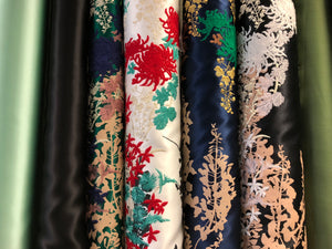 A collection of exclusive, genuine designer fabrics