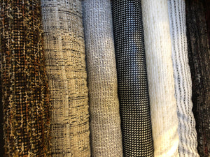 Italian Designer Tweeds and Boucle fabrics